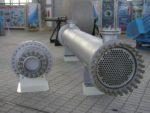 Tube-and-Shell Horizontal Heat-Exchanger